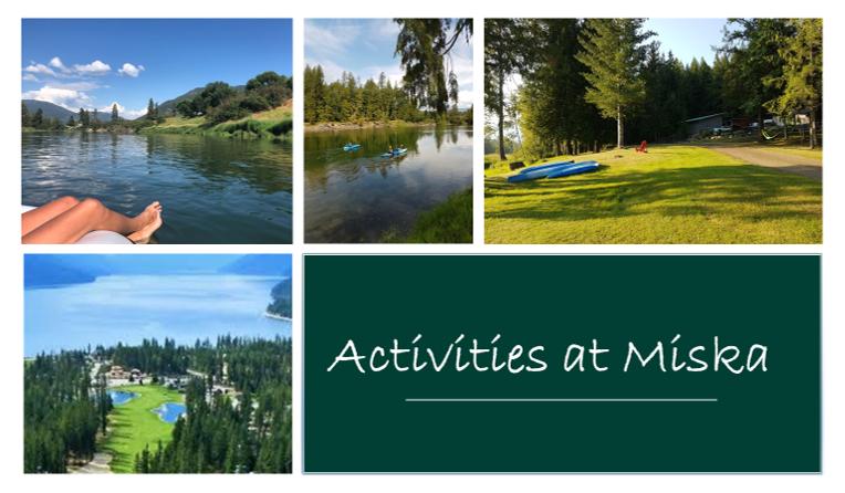 A - Activities at Miska 1